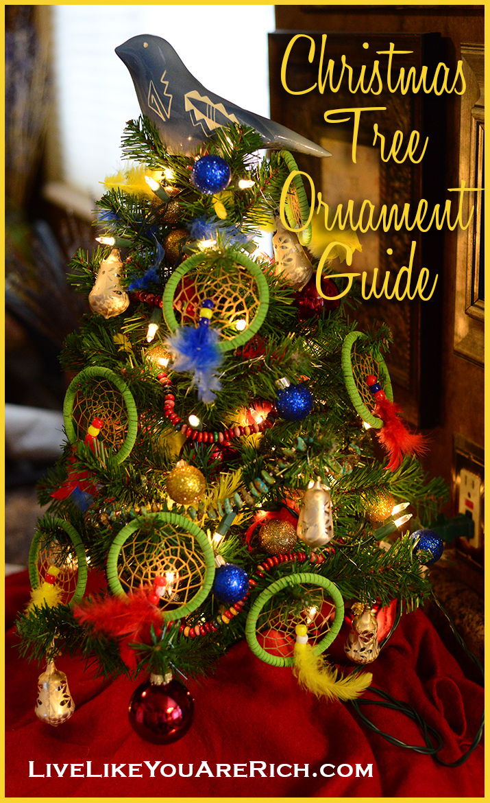This guide tells you based on the height of your tree how many ornaments you will need.