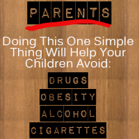 Doing This One Simple Thing Will Help Your Children Avoid Misbehaviors