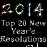 Top 20 New Year's Resolutions…of the Rich