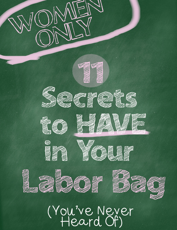06f4ee0a7b78 11 Secrets to have in your labor Bag Must have items to have in a ...