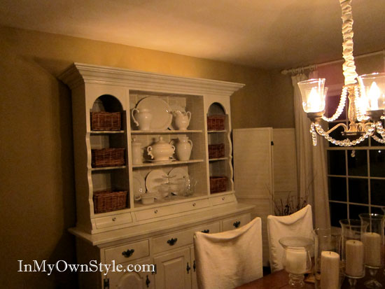 Lights-on-dimmers