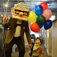 How To Make a Mr. Fredricksen Costume from the Movie 'UP'.