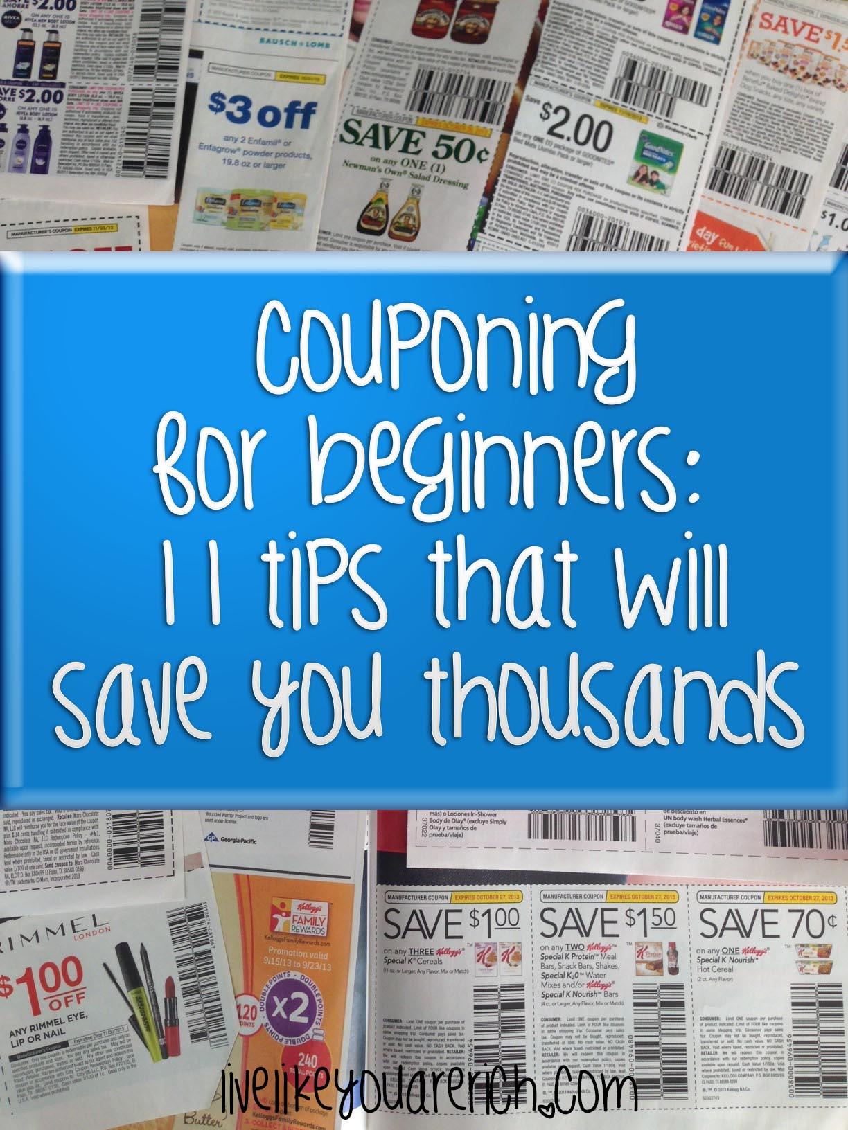 Sitios Web cupón para imprimir - Consejos para ahorrar dinero