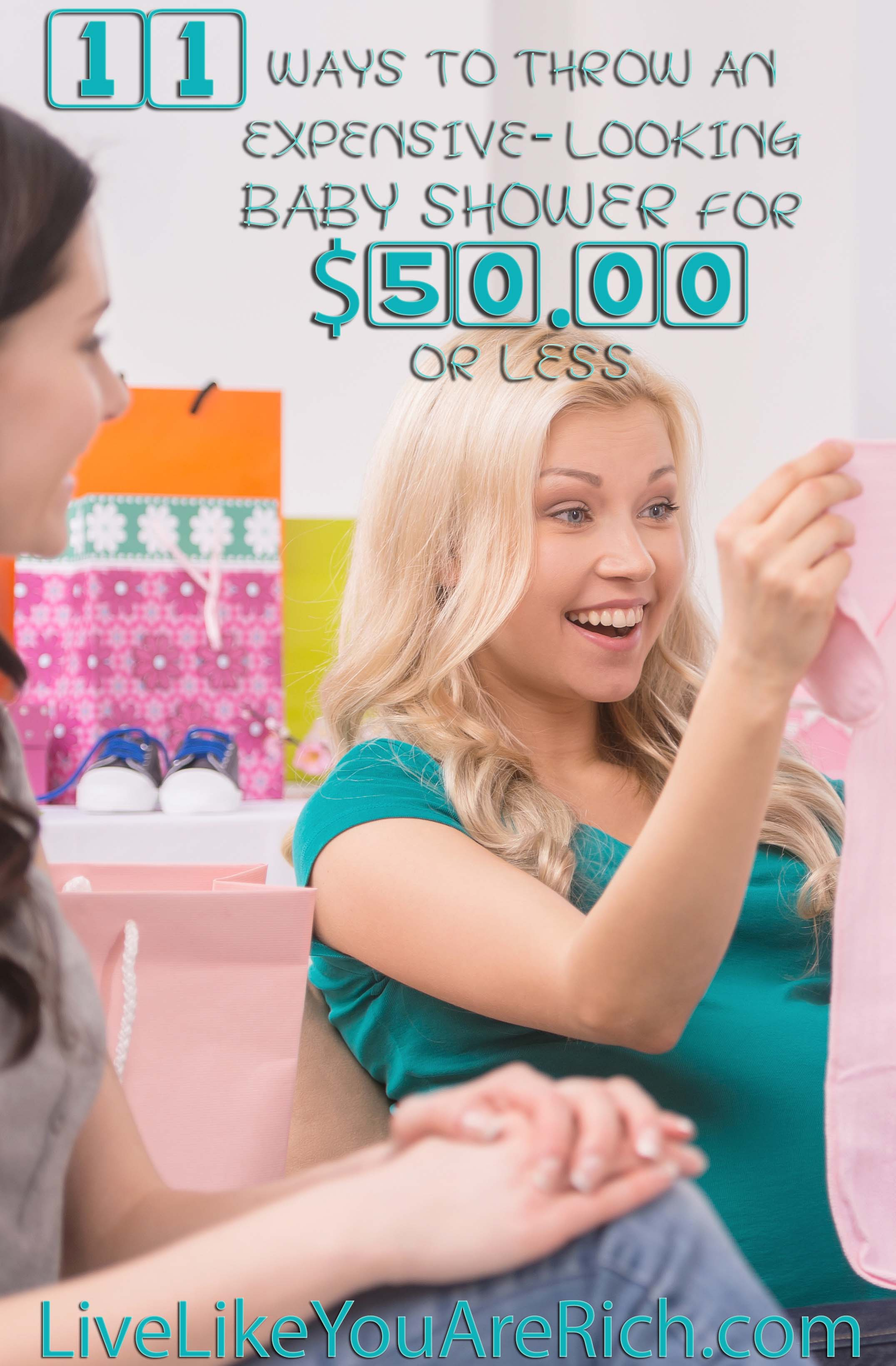 11 Ways To Throw A Baby Shower For Less Than 5000