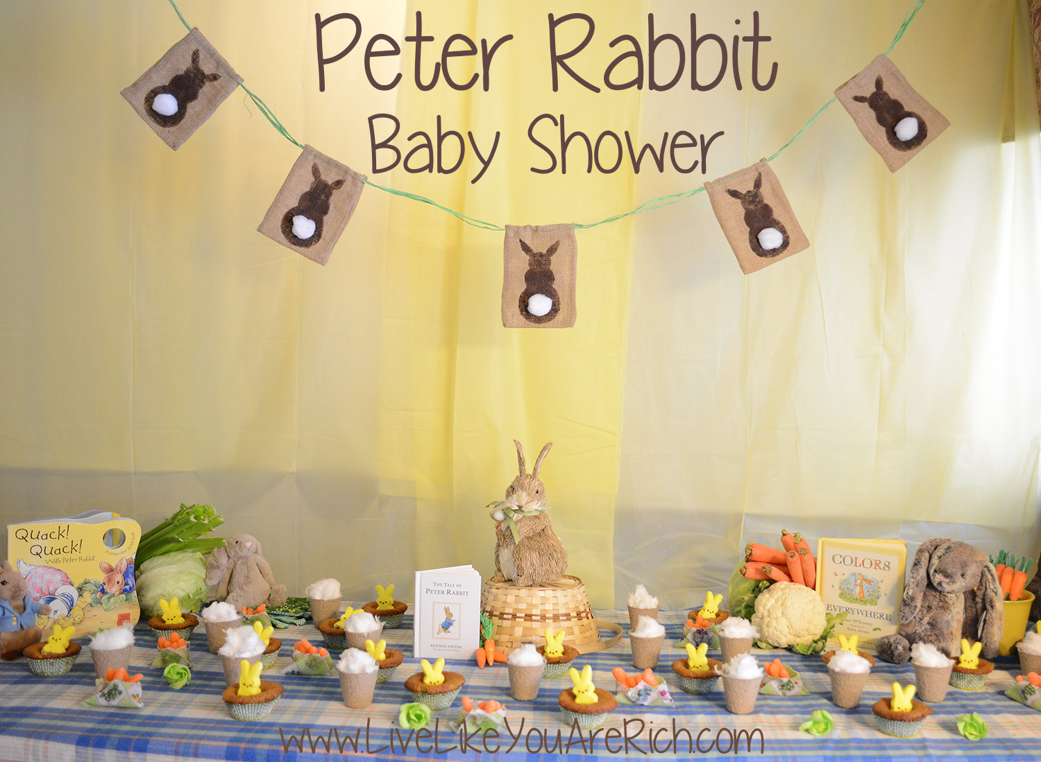 alfa img showing peter rabbit baby shower