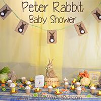 Peter Rabbit Baby Shower