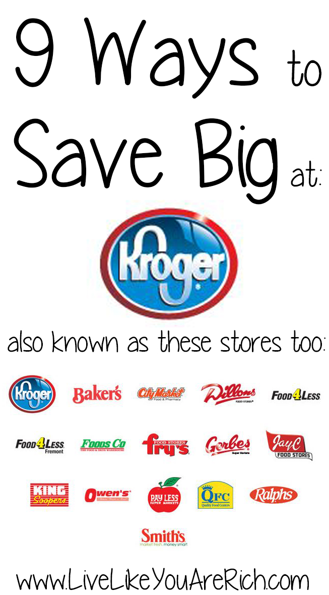9 Ways to Save Big at Kroger.