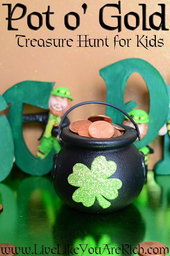 Pot o' Gold Treasure Hunt for Kids