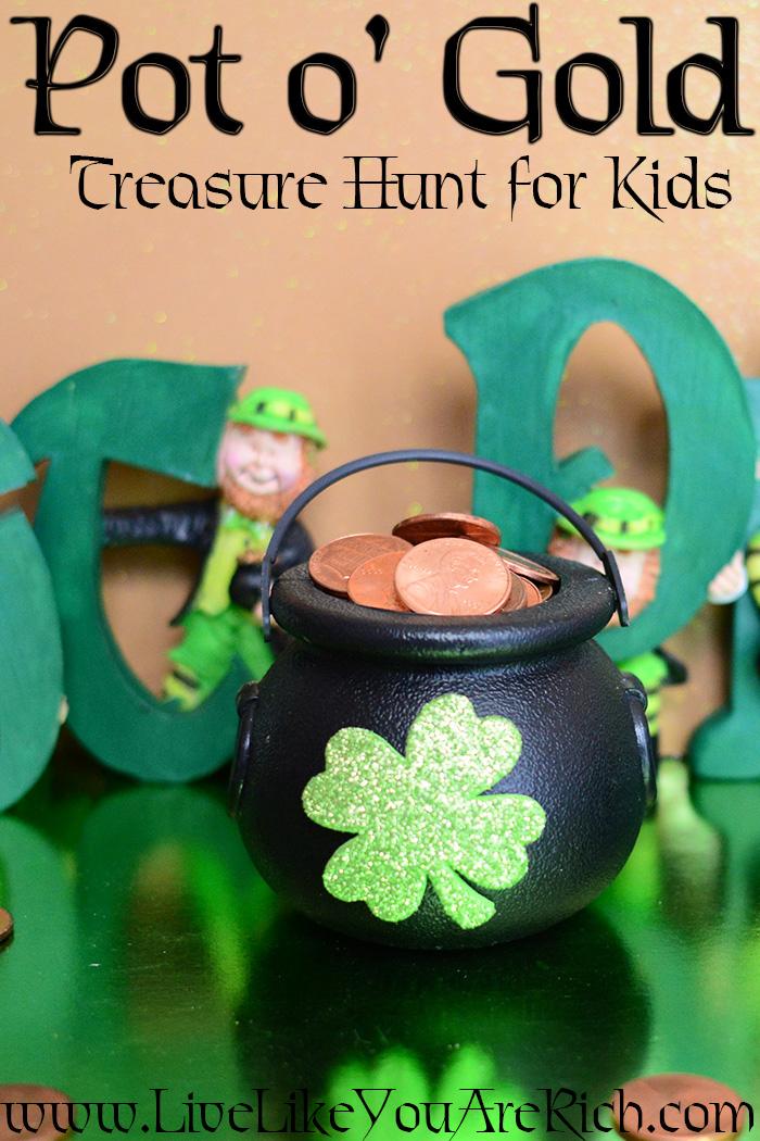 Pot o' Gold Treasure Hunt for Kids