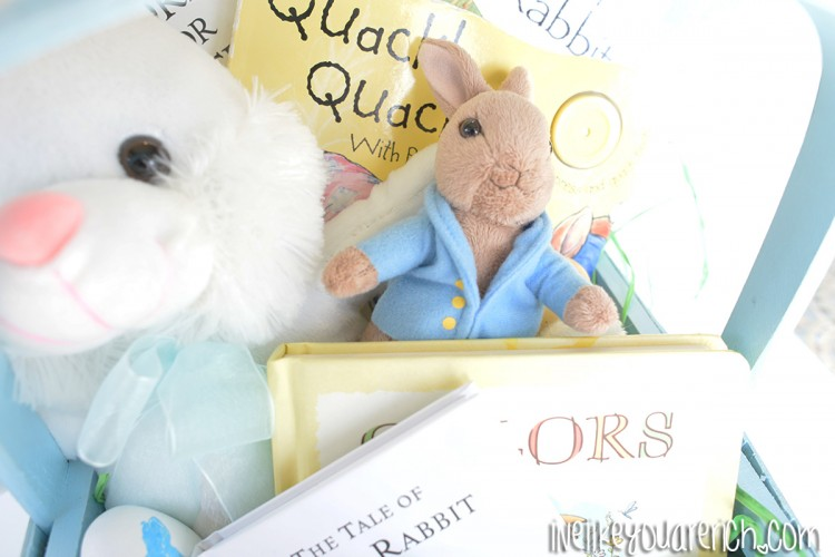 Peter Rabbit Story Time {Easter Basket}