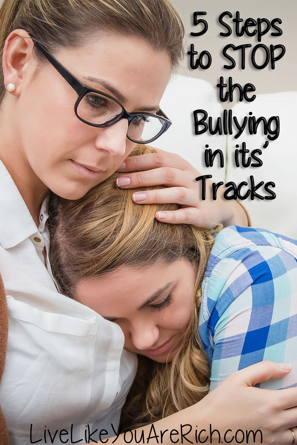 Ever been bullied or been a bully yourself? Well, I've been the victim of bullying and I've also been the bully. I've learned about both sides. So I thought I'd share with you these 5 steps to stop the bullying in its tracks. #stopbullying #bullying