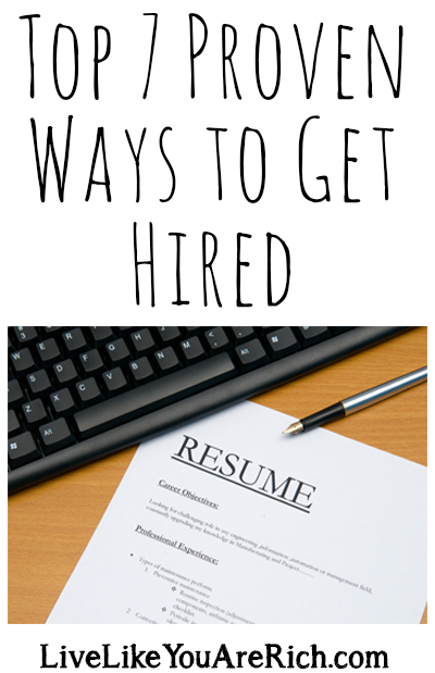 Top 7 Proven Ways to Get Hired