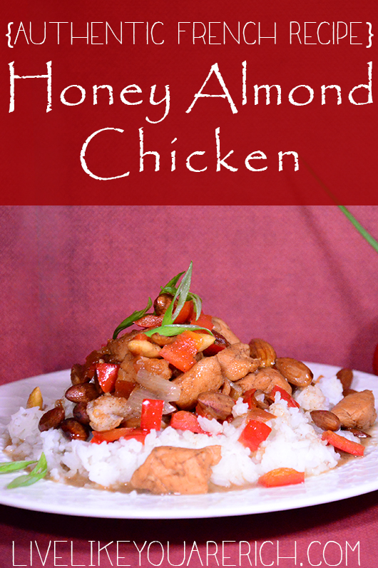 Honey Almond Chicken {Authentic French Recipe}