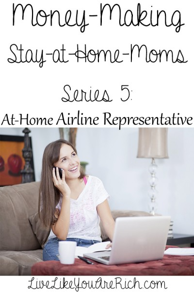 How to Make Money as an At-Home Airline Representative