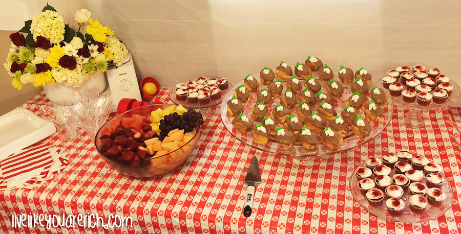Food for a Kitchen Themed Bridal Shower