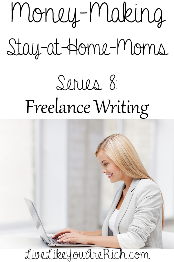 writing for money from home