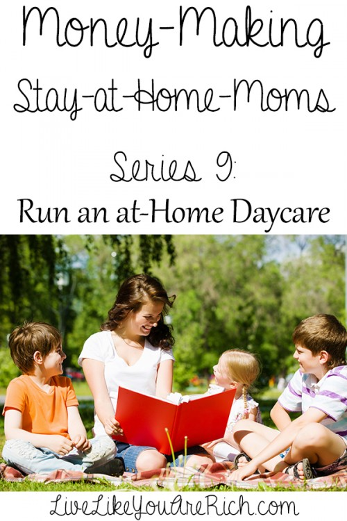 How to Make Money by Starting an at-Home Daycare