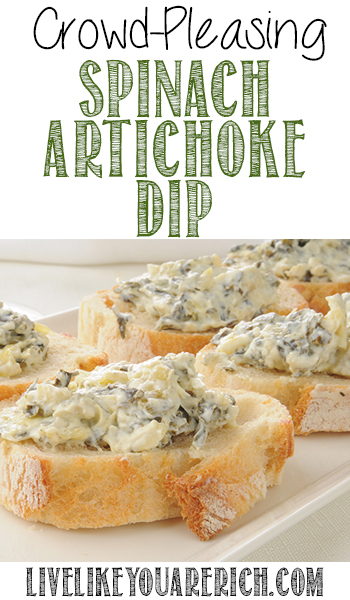 Crowd-Pleasing Spinach Artichoke Dip Recipe