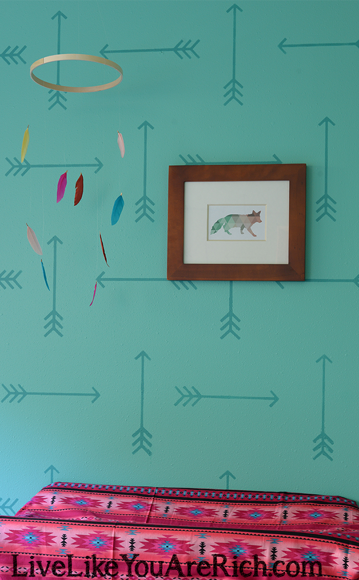 How to Make a Feather Baby Mobile