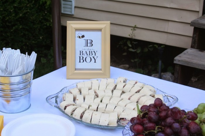 Bee is for Baby Boy Shower