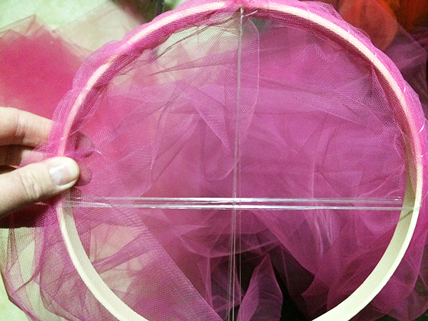 How to Make a Crib Canopy out of Tulle