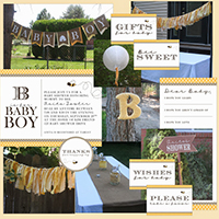B is for Baby-Baby Shower