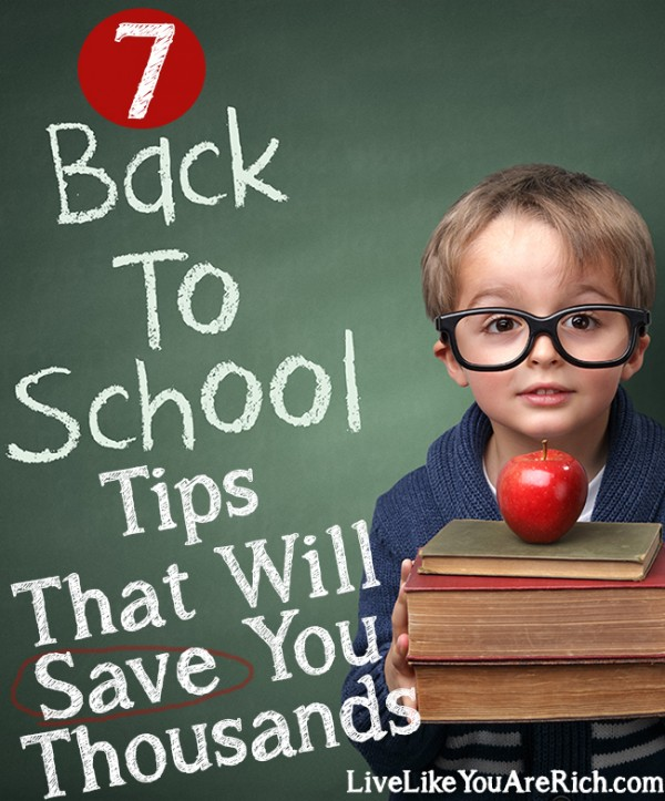 How to Save on School Expenses. Great tips and ideas for parents of kids elementary through high school.