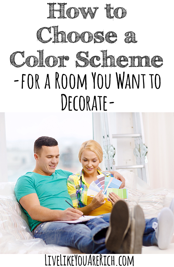 How to choose a color scheme for a room you want to decorate live like you are rich - Choose color scheme every room ...