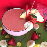 Strawberry Banana Colada Recipe
