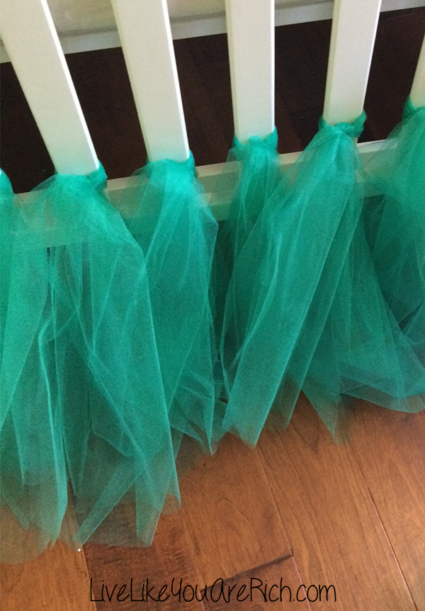 How To Make A Ballerina Tulle Crib Skirt Live Like You