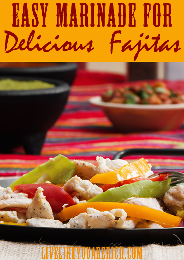 Amazing homemade fajitas