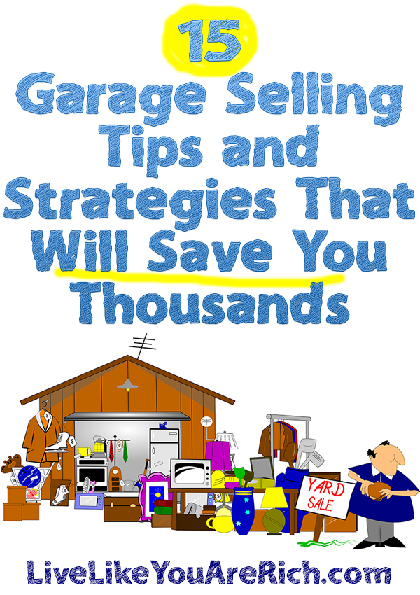 Garage Selling to Save Big