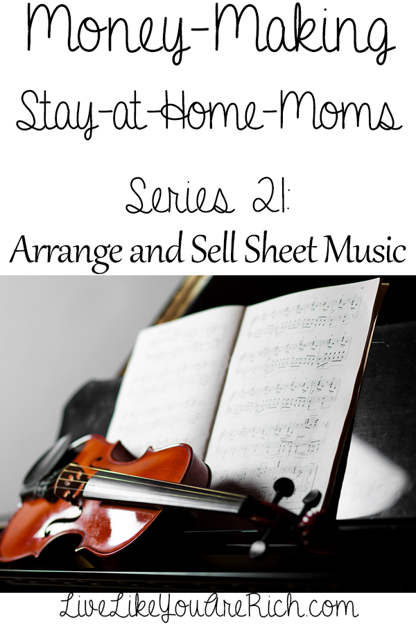 How to Make Money Selling Your Sheet Music