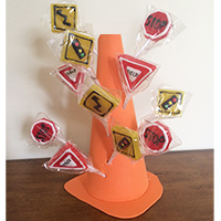 How to Make a Styrofoam Traffic Cone