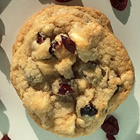 Craisin White Chocolate Chip Cookies Recipe