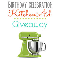 KitchenAid Stand Mixer Giveawaythumb