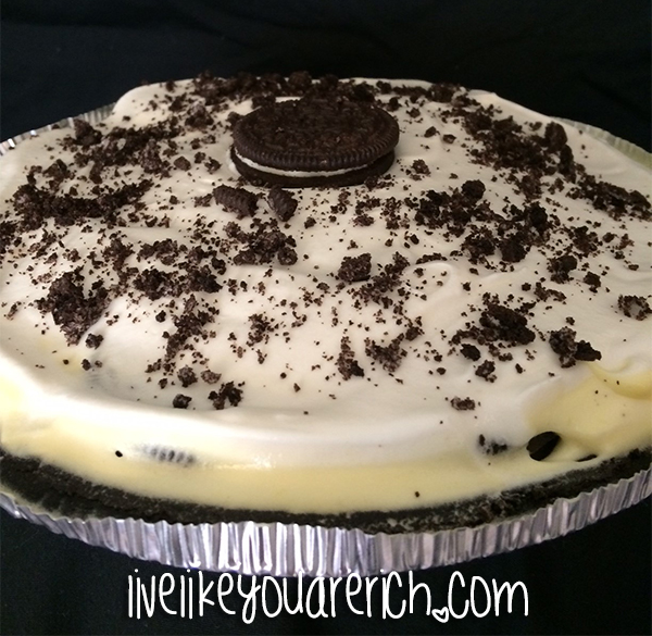 Easy, delicious, and quick Oreo Ice Cream Pie