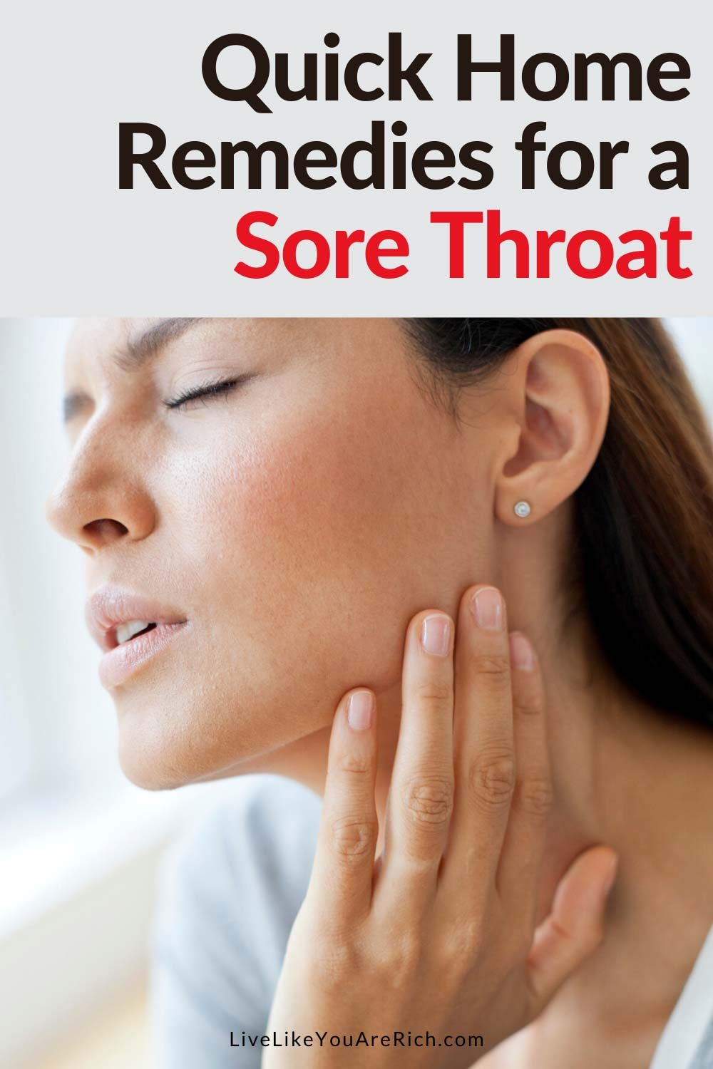 How to Quickly and Efficiently Soothe and Heal a Sore Throat great tips on what to try and 1 quick tip that really helps soothe and take away the pain! Gotta try. #sorethroat #remedies #naturalremedies