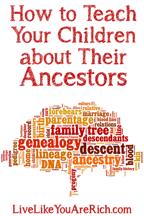 How to Teach Your Children about Their Ancestors