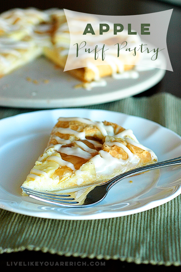 Cream Cheese Apple Puff Pastry Recipe