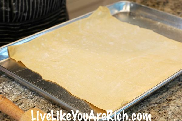 Cream Cheese Apple Puff Pastry Recipe