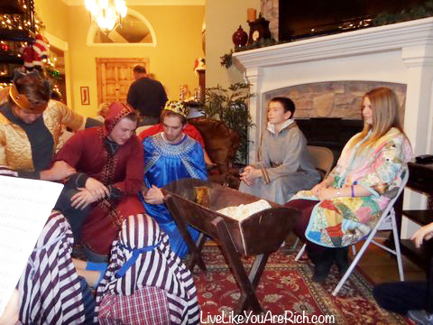 How To Put on a Christmas Nativity Play at Home With Script, Songs, & Costume List