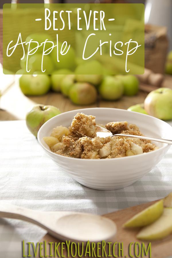 Apple crumbleBest Apple Crisp Recipe Ever!