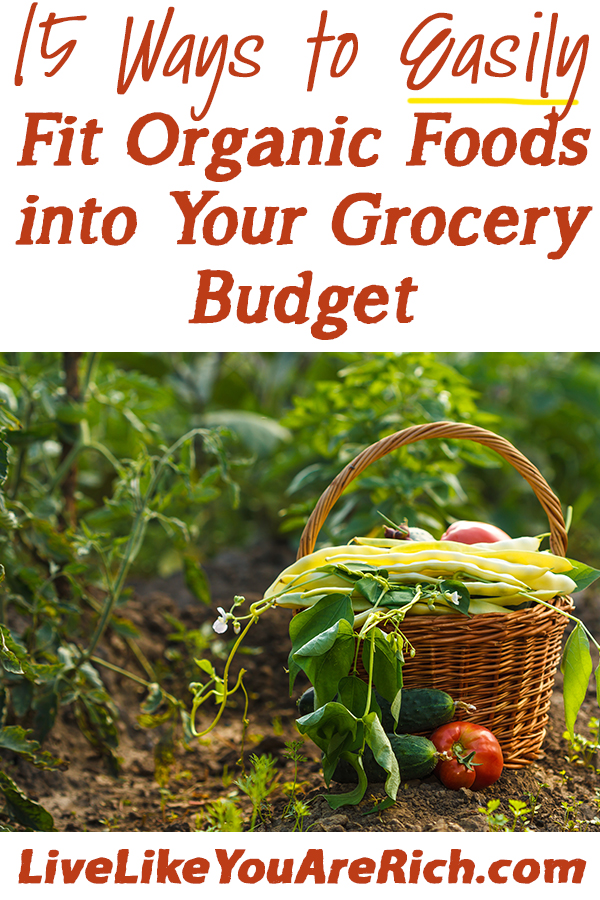 How to save money on organic foods- practical tips.