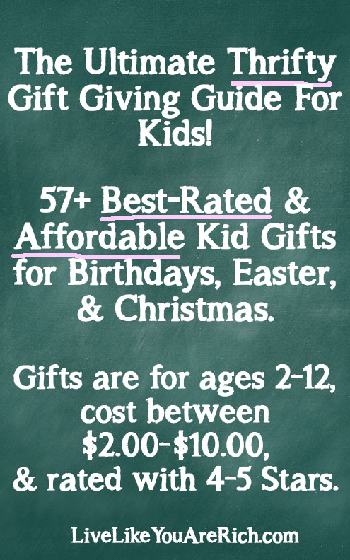 Best-Rated Affordable Kid Gifts on Amazon for Under $10.00!