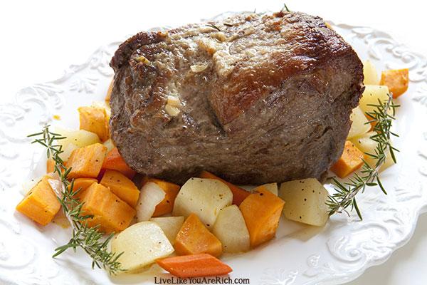 Restaurant Worthy Slow Cooker Roast Beef Dinner