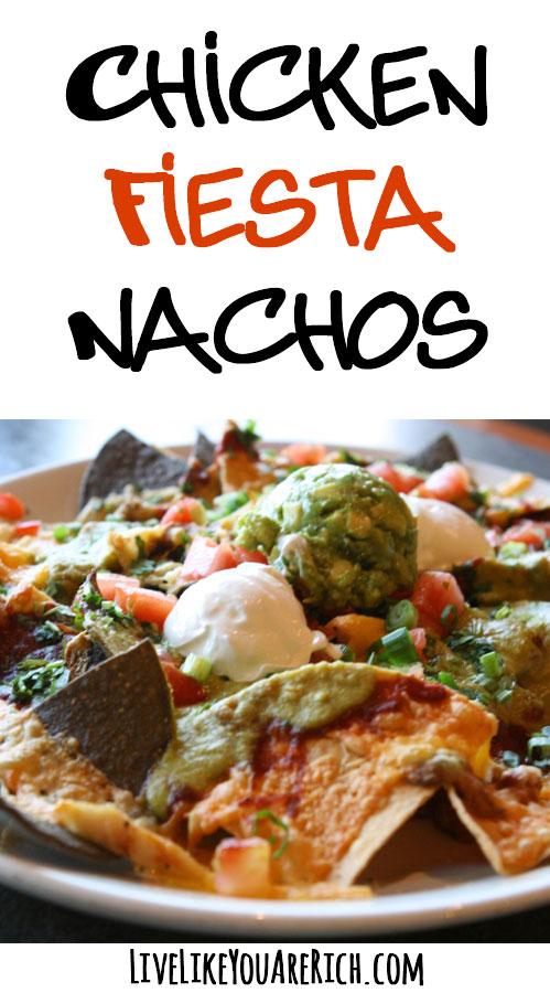 Chicken Fiesta Nachos Recipe Fiesta lime chicken recipe (applebee's copycat) is today's recipe is fiesta lime chicken. chicken fiesta nachos