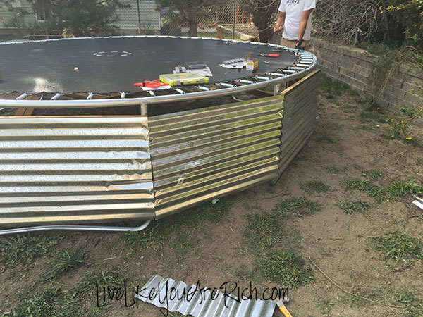How to Install an Inground Trampoline- Step-by-step easy to follow instructions. Makes a trampoline easier to access and safer for your kids.