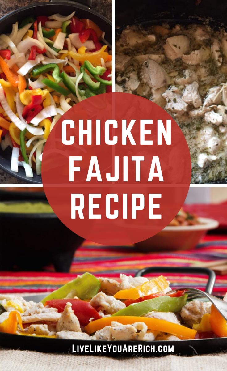 The Best Slow Cooker Fajita Recipe- I've experimented making slow cooker/crockpot fajitas. The first time was not so great. The second time they turned out perfect! #fajita #chickenfajita #slowcooker