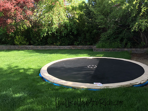 how to install an inground trampoline. Black Bedroom Furniture Sets. Home Design Ideas